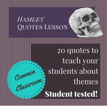 Hamlet Quotes Lesson