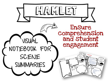 Hamlet Scene Summary Visual Notebook