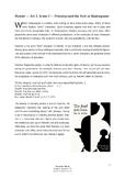 Hamlet (Shakespeare) Complete Advanced Activity Bundle