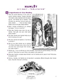 """Hamlet (IB Shakespeare) - """"To be, or not to be"""" Soliloquy"""