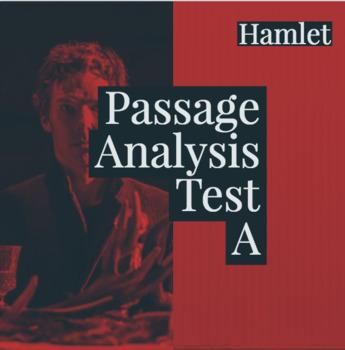 "Hamlet Passage Analysis Test ""A"""