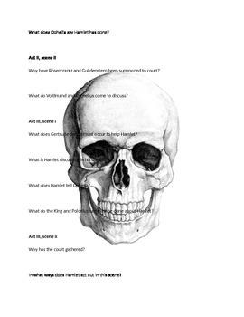 Hamlet Study Guide