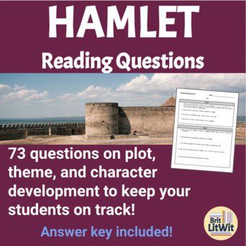 Hamlet Reading Questions/Study Guide