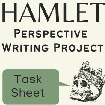 Hamlet Summative Assessment Project on Perspective GRASPS & IB MYP