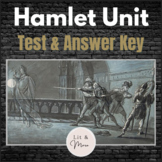 Hamlet Test & Answer Key - Short Answer, Quote Analysis & Short Essay