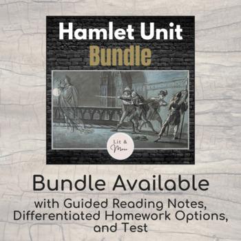 Hamlet Test & Answer Key - Short Answer, Quote Analysis & Short Essay