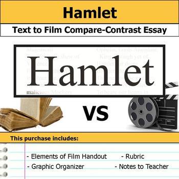 Hamlet - Text to Film Essay Bundle