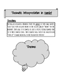 Hamlet Thematic Interpretation Handout