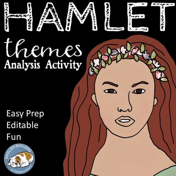 Hamlet Themes Textual Analysis Activity