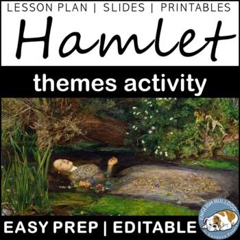 Hamlet Themes Textual Analysis Activity