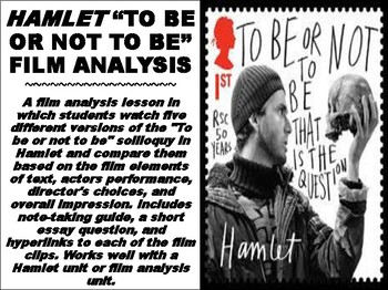 "Hamlet ""To be or not to be"" Film Analysis"