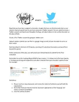 Hamlet Twitter Assignment