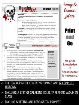 Hamlet Unit (No prep - Complete Unit)
