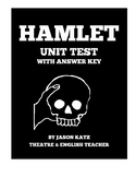 Hamlet Unit Test With Answer Key