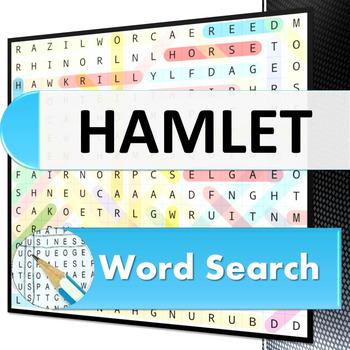 Hamlet Word Search Puzzle