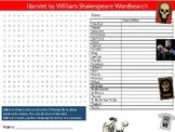 Hamlet Wordsearch Sheet Starter Activity Keywords William Shakespeare English