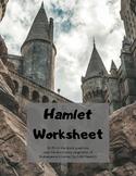 Hamlet: Worksheet