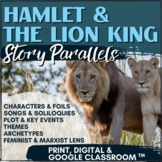 Hamlet & The Lion King Comparison Project - Creative, Fun & Engaging!