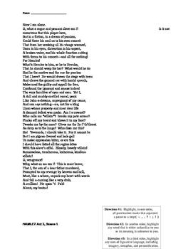 Hamlet's Soliloquies