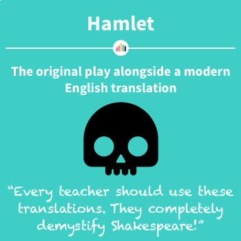 Hamlet: the Original Play Alongside a Modern English Translation