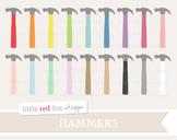 Hammer Clipart; Tool, Construction