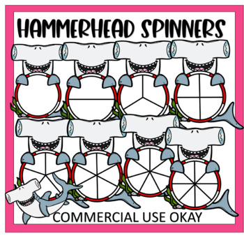 Hammer Head Shark Spinners