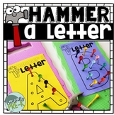 Hammer-a-Letter Golf Tee Activity