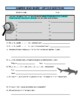 Hammerhead Shark (animal article / question sheet / puzzle / more)
