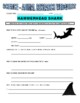 Hammerhead Shark (animal article / question sheet / puzzle