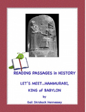 Hammurabi, King of Babylon: A Reading Passage!
