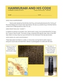 Hammurabi and his Laws: A primary source activity