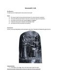 Hammurabi's Code (AP World History - updated for 2017-2018