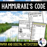 Hammurabi's Code Activities