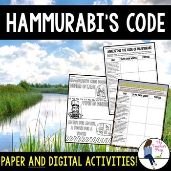 Hammurabi's Code Activities
