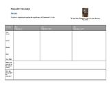 Hammurabi's Code Analysis Graphic Organizer