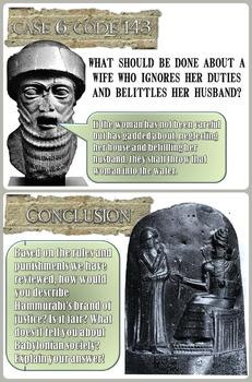Hammurabi's Code Analysis PowerPoint & Chart