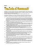 Hammurabi's Code (DBQ)