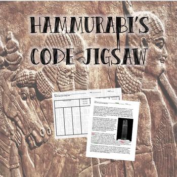 Hammurabi's Code Jigsaw
