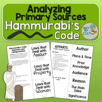 Hammurabi's Code Primary Source Analysis Activity
