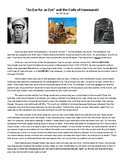 Hammurabi's Code Reading Comprehension