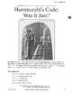 Hammurabi's Code: DBQ
