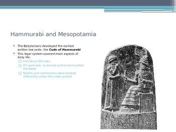 Hammurabi's Code Vs. Ten Commandments