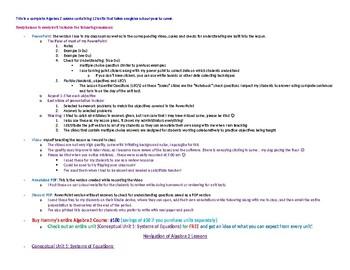 Hammy's Algebra 2 Curriculum Navigation