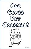 Hamster Class Pet Journal