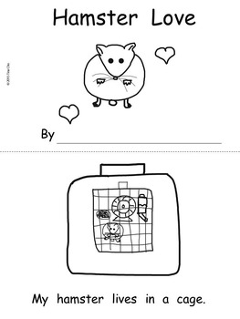 Hamster Love Guided Reading Packet