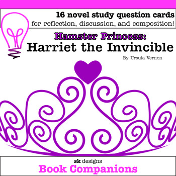 Hamster Princess: Harriet the Invincible Discussion Question Cards