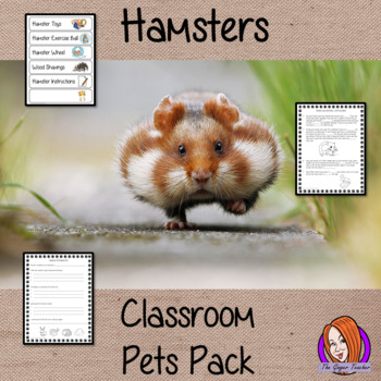 Hamsters Classroom Pets Pack
