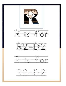 Han Solo Preschool Handwriting Pack