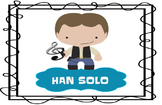 Han Solo / Star wars Music Ensemble Posters