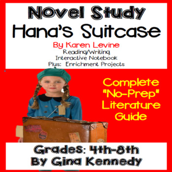 Hana's Suitcase Novel Study & Enrichment Project Menu